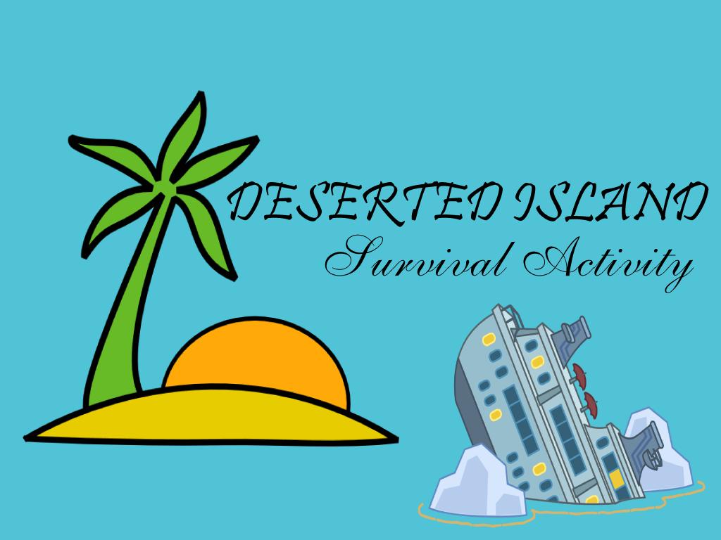 deserted island survival activity