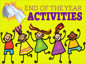 end of year activities - fun things to do on the last day of school