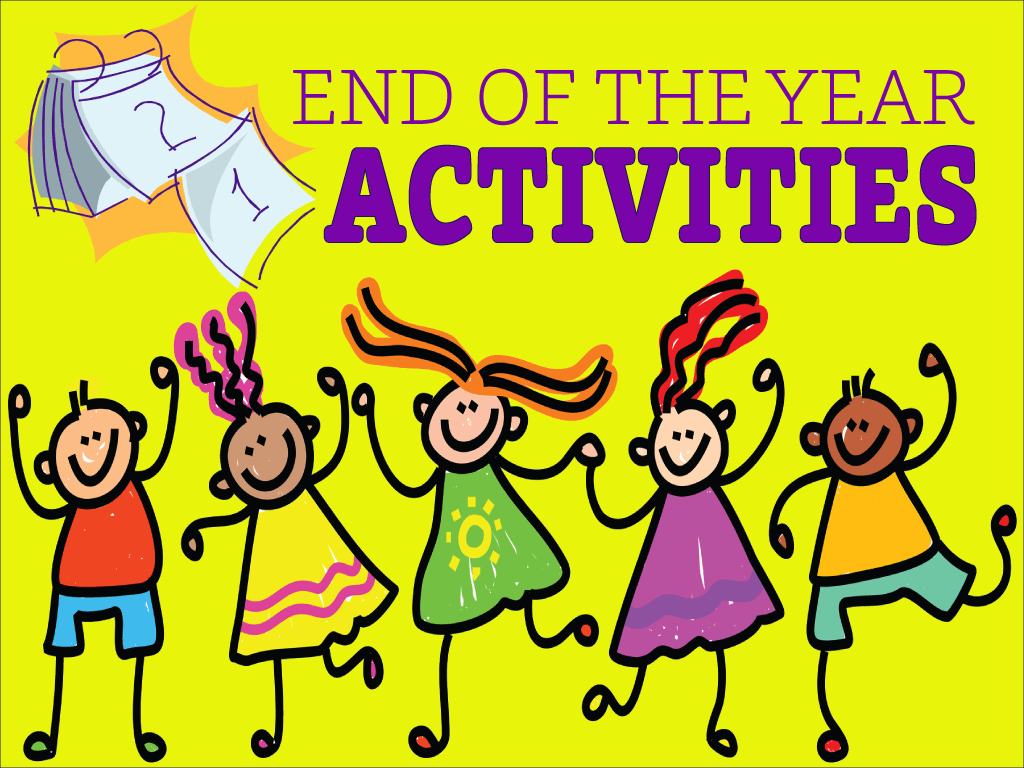 end of the year school activities pdf
