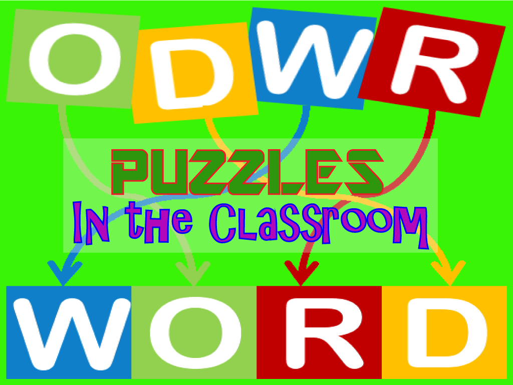6 Vocabulary Puzzles that Students can Create and Enjoy!
