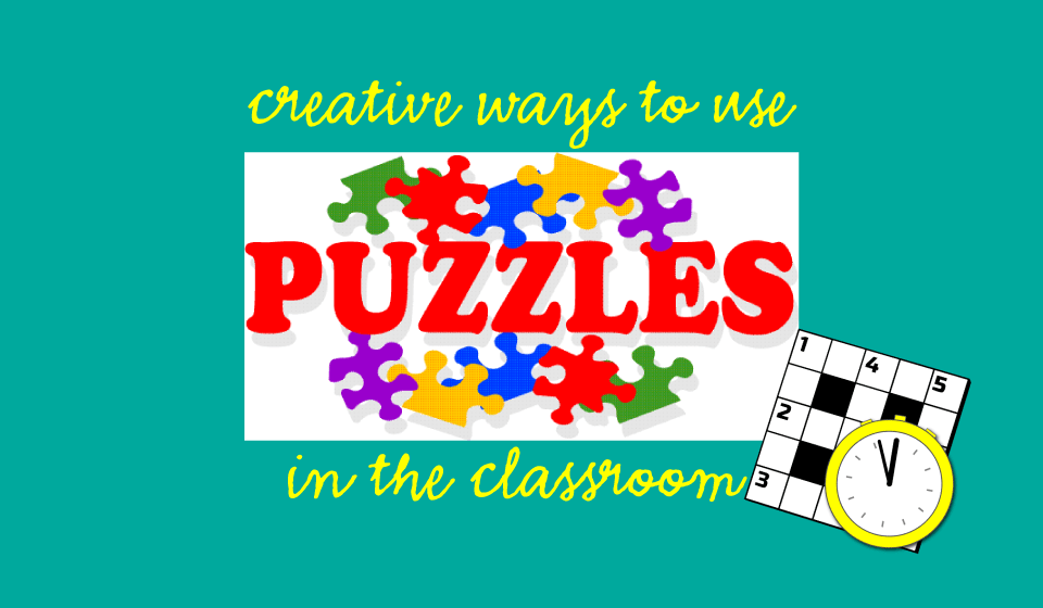 Vocabulary Puzzles for Fun Classroom Activity!   English Teaching ...