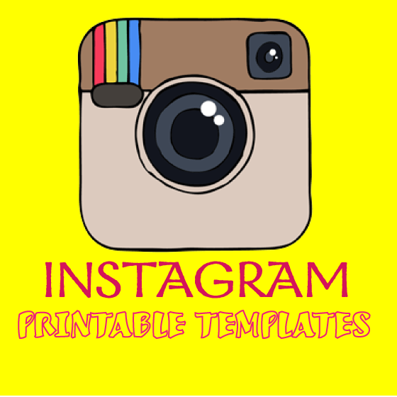 printable instagram templates english teaching 101english teaching 101. Black Bedroom Furniture Sets. Home Design Ideas