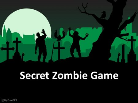 secret zombie speaking activities