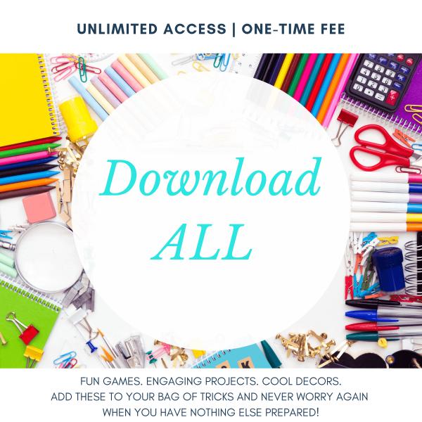 Download All - Gold Membership