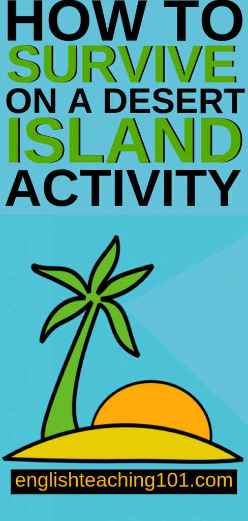 Desert Island Survival Activity