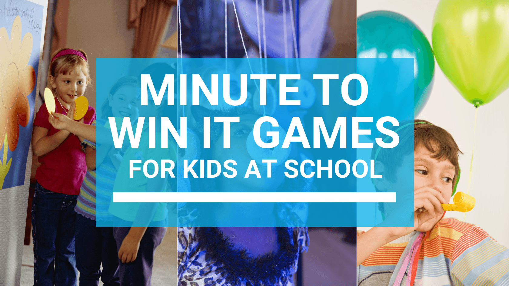minute to win it games for kids at school