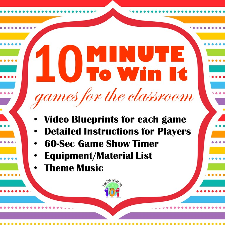 minute to win it games birthday parties