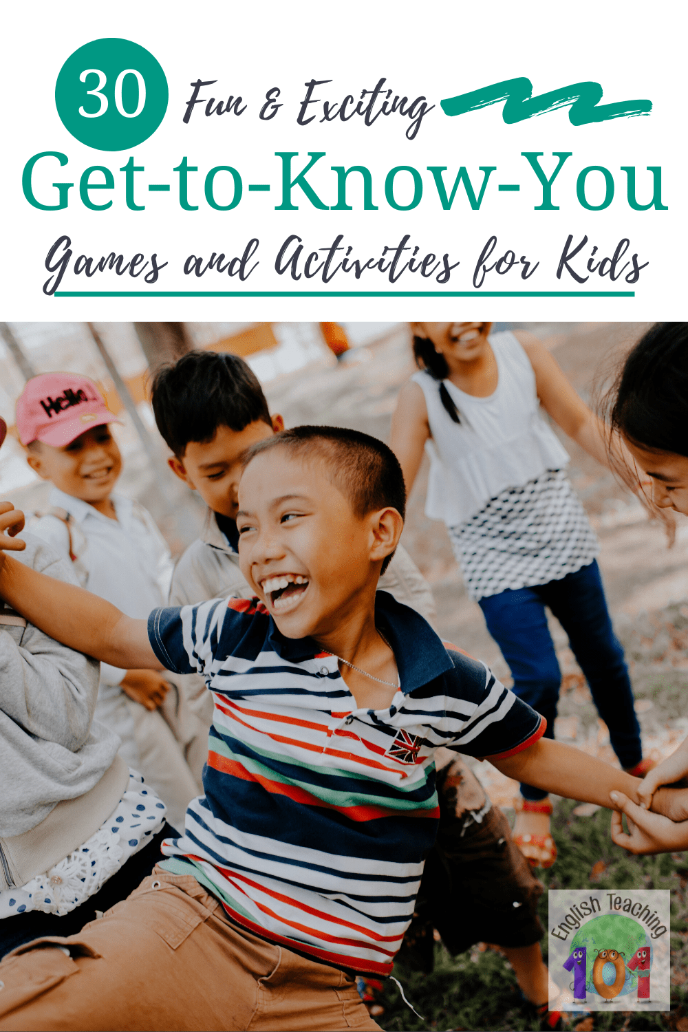 21 Get to Know You Games & Activities for Kids!  Get to know you games for kids are great not only to engage students on the first day of school, but also to warm up conferences, and clubs.