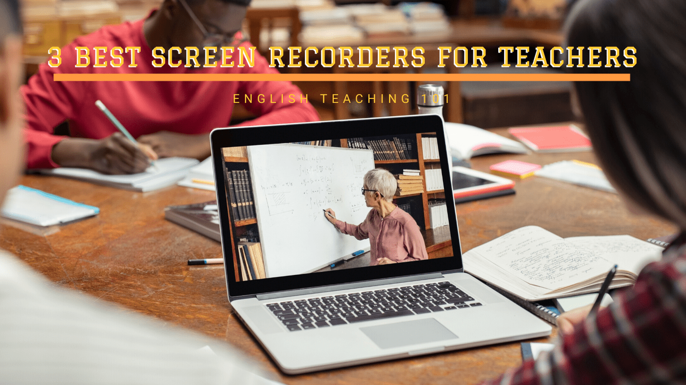 free screen recorders for educators