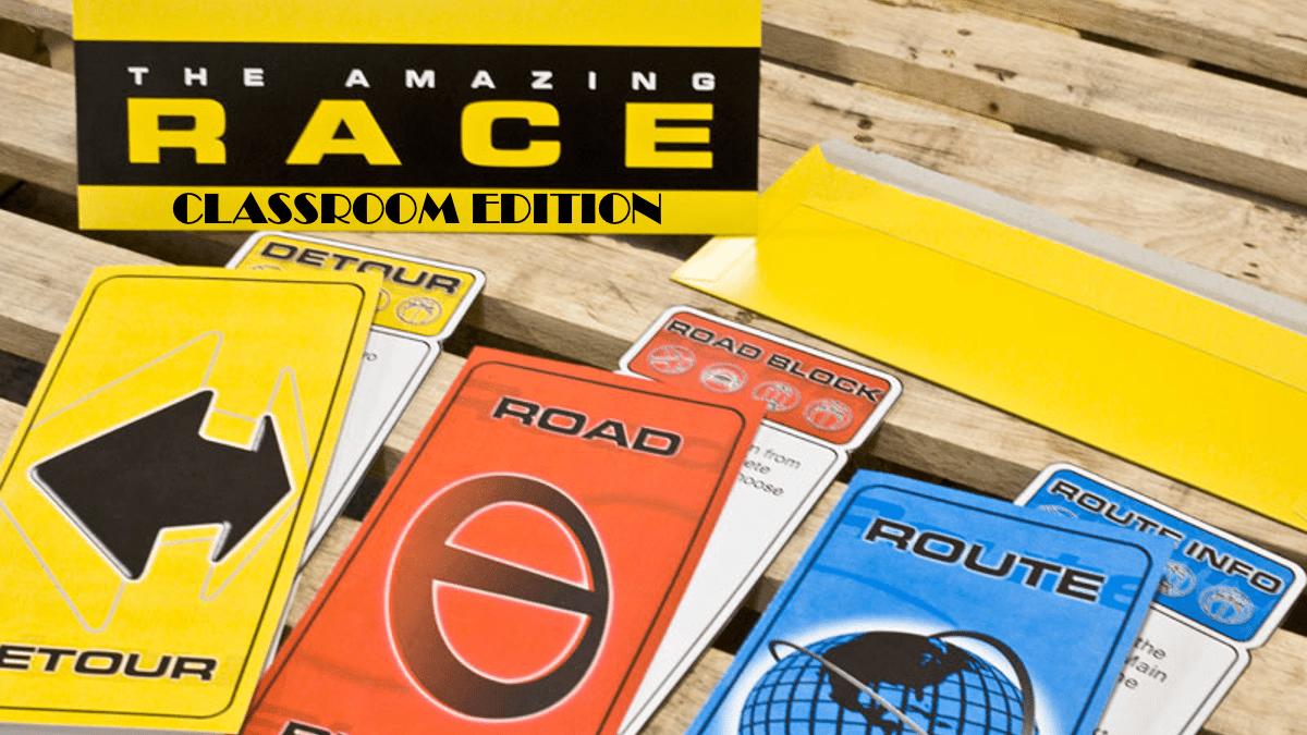 the amazing race classroom edition