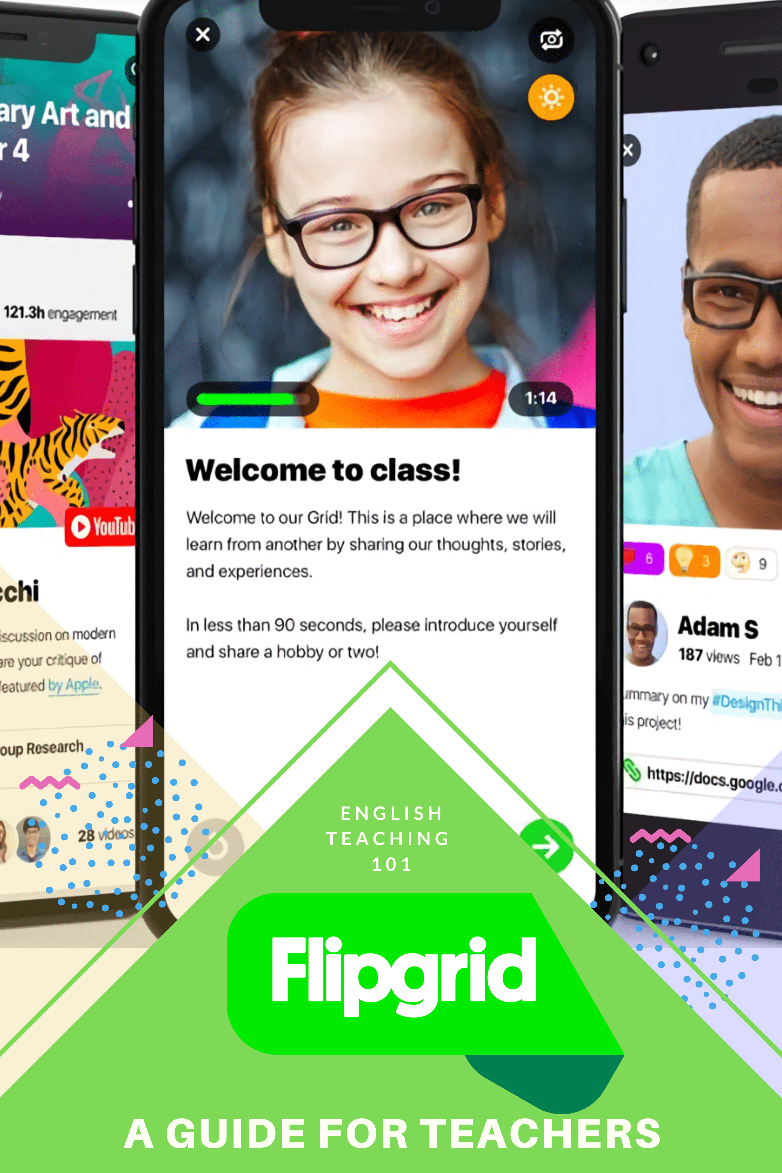 Sample activities you can do with FlipGrid!