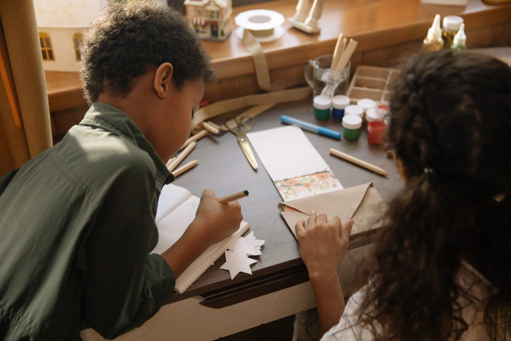 write letters for writing activities